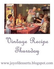 Vintage Recipe Thursday