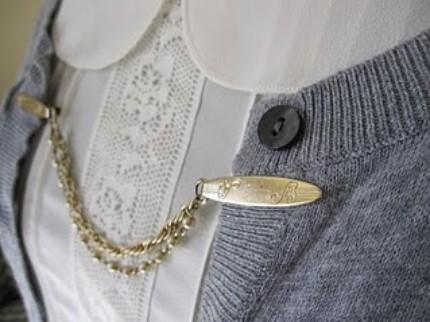 Retro Glamour Cardigan Clips - Ambivalent Relics: Retro Glamour Cardigan Clips