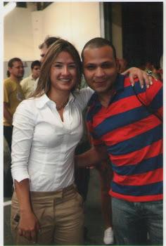 Bruna Furlan (Candidata a Deputada Federal) Reçebeu Apoio de Carlos Alexandre