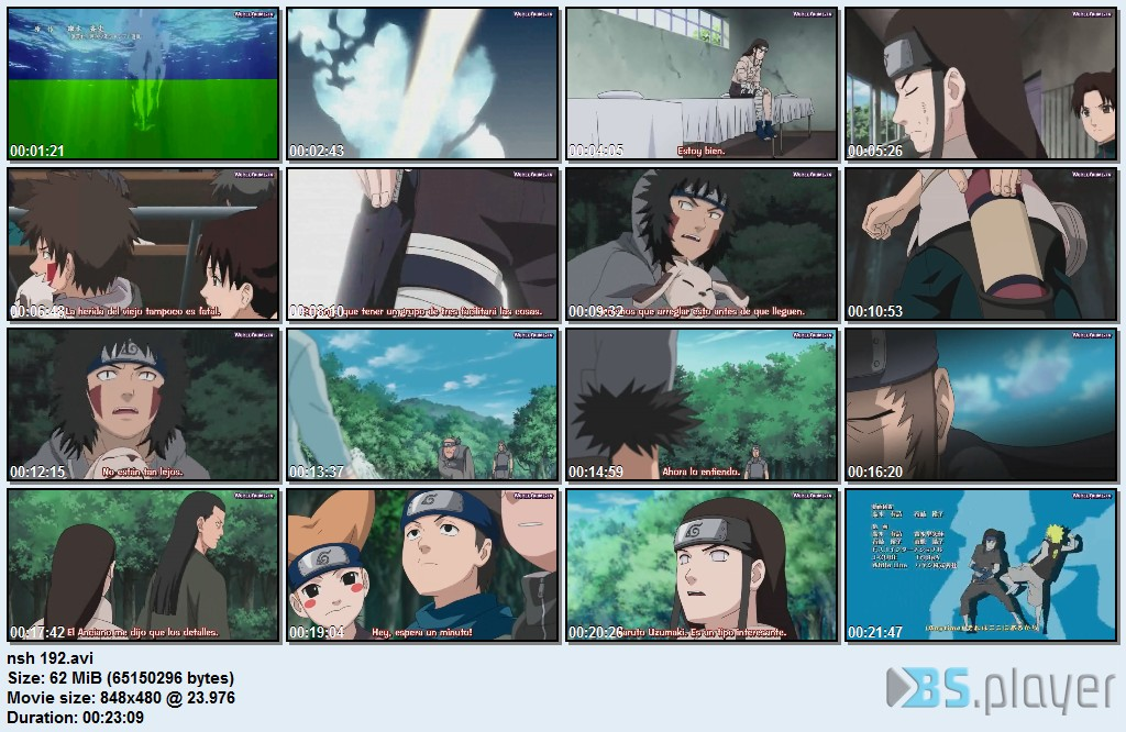 Naruto Shippuden 192 Sub Español [60mb]. Idioma: Japones Subtitulo: Español