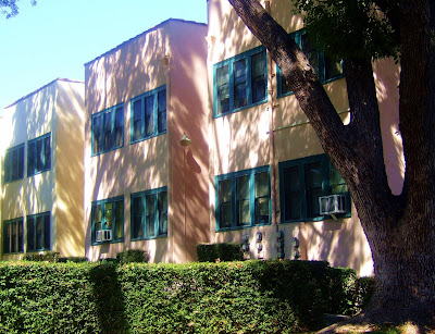 pastel+apartments+green+windows Window Units  photo