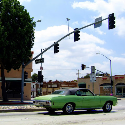 old+car+green+muscle+cropped Memory Lane  photo