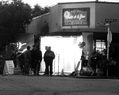 film+crew+bistro+bladk+and+white+1 Footage  photo