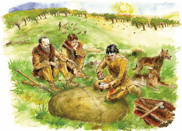 Neolithic revolution essay question