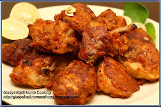 Deep-fried Tom Yam Chicken