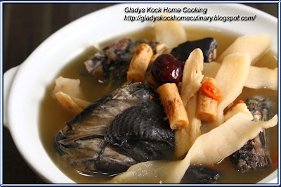 Chinese Herbal Black Chicken Soup