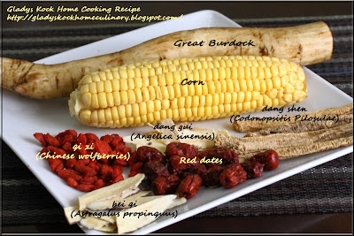 Easy asian food recipes great burdock soup with corn and chinese great burdock soup with corn and chinese herbs ingredients forumfinder Images