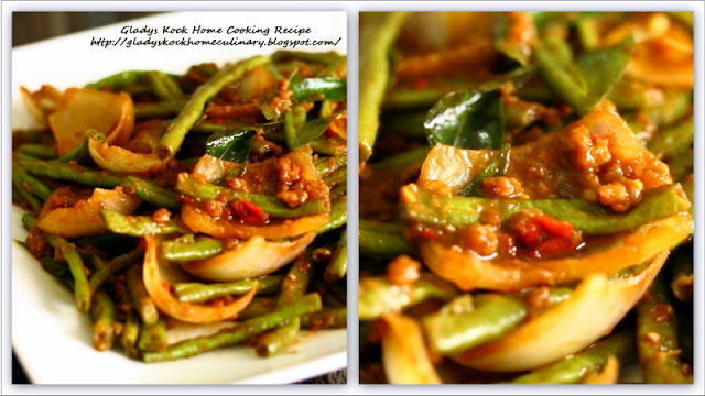 Stir-fried Kam Heong Chinese Long Beans