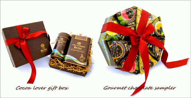 Cafe Britt Christmas Chocolate Gift