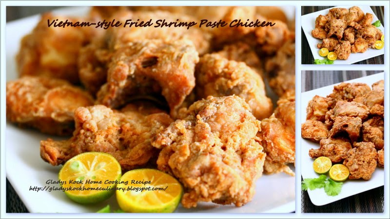 Recipe for shrimp paste chicken