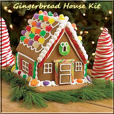 classic gingerbread house kit