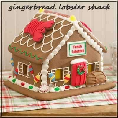 gingerbread lobster shack