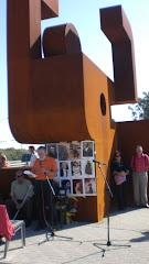 Homenaje a los presos del Campo de Trabajo Los Merinales