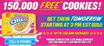Free Oreo Cookies