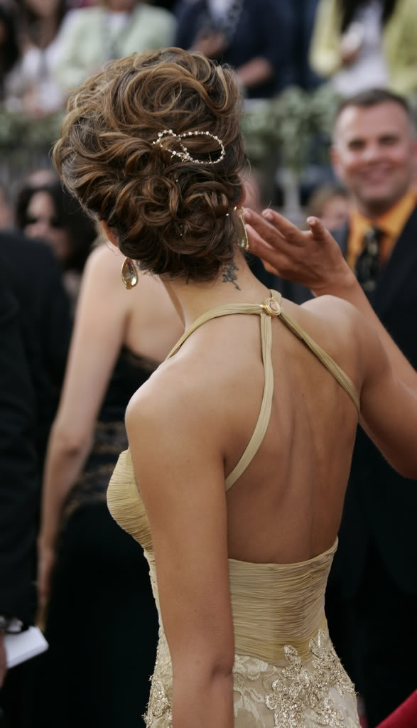 jessica alba hairstyless. house jessica alba updo hair.