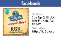 IU2U Chiquita Challenge and Childhood Obesity