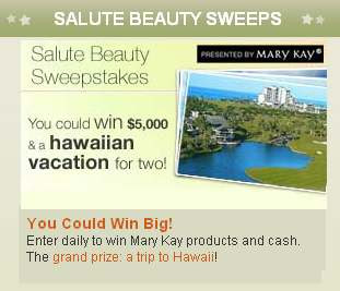 Lifetime Salute Beauty Sweepstakes