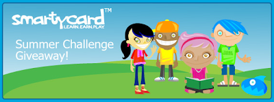 Scholastic Summer Challenge SmartyCard Giveaway
