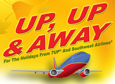 7UP Southwest Airlines UP, UP and AWAY Sweepstakes