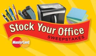 Staples and MasterCard Stock Your Office Sweepstakes