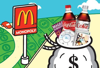 2009 McDonalds MONOPOLY Game Free Codes