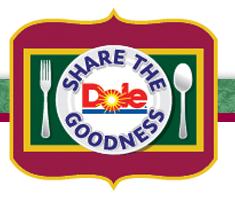Dole Share The Goodness Photo Mosaic