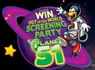 Kid Cuisine Planet 51 Sweepstakes Instant Win Game