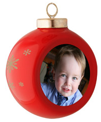 FREE Photo Christmas Tree Ornament + FREE Shipping from SeeHere