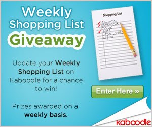 Kaboodle's Weekly Shopping List Giveaway