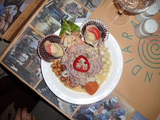 A dish of authentic chilean food