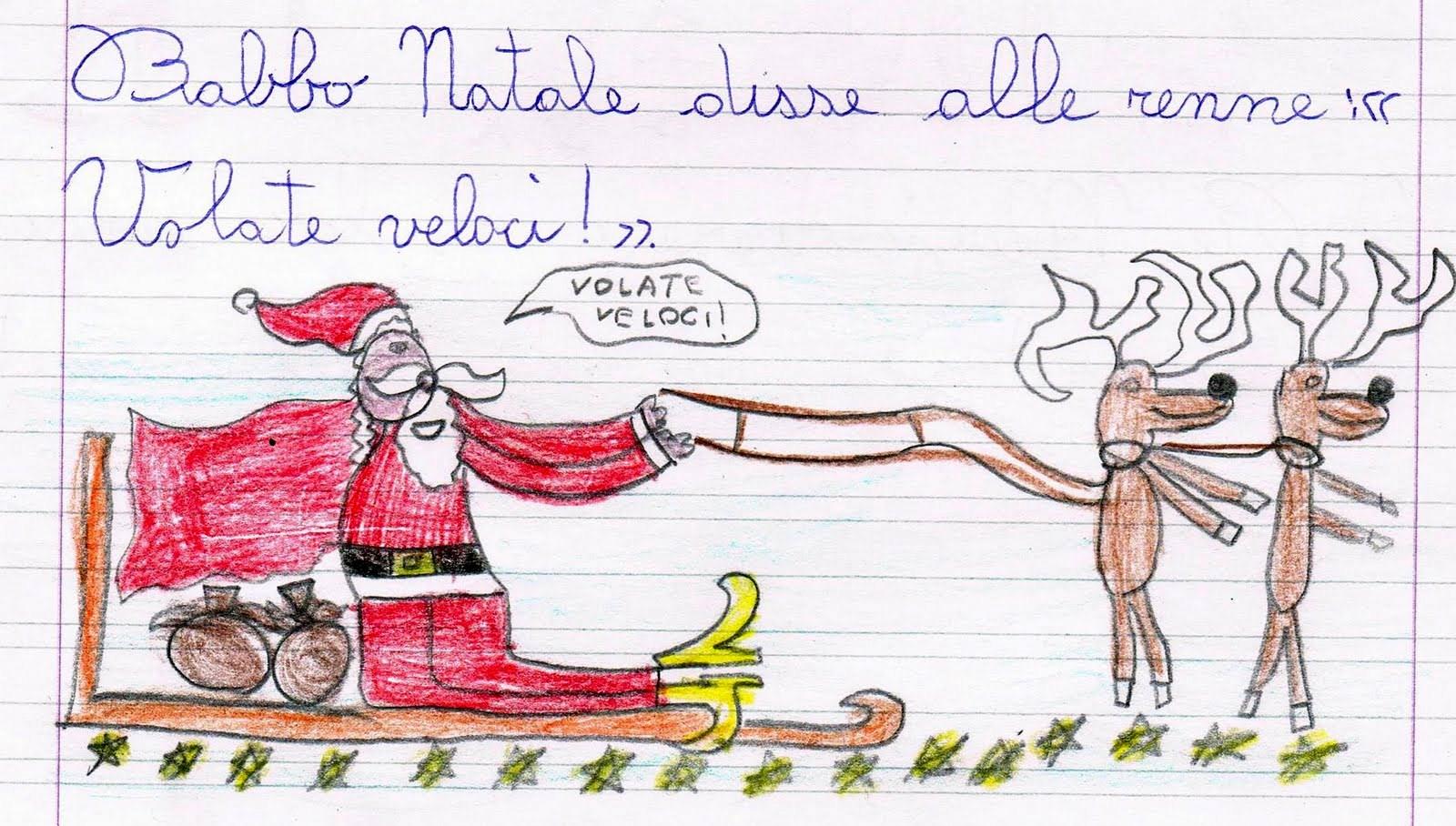 Top Babbo Natale e le renne - Scheda di verifica per la lettura e la  GH55