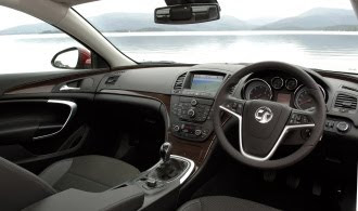 Vauxhall Insignia EcoFlex interior