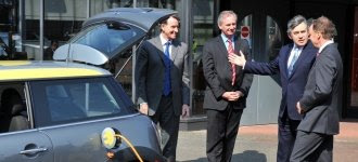 Hoon, Brown, Mandelson and an electric Mini