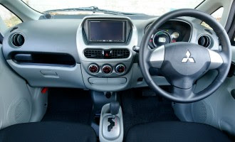 Mitsubishi i-Miev dashboard