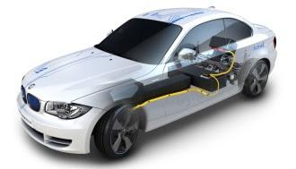 BMW ActiveE cutaway