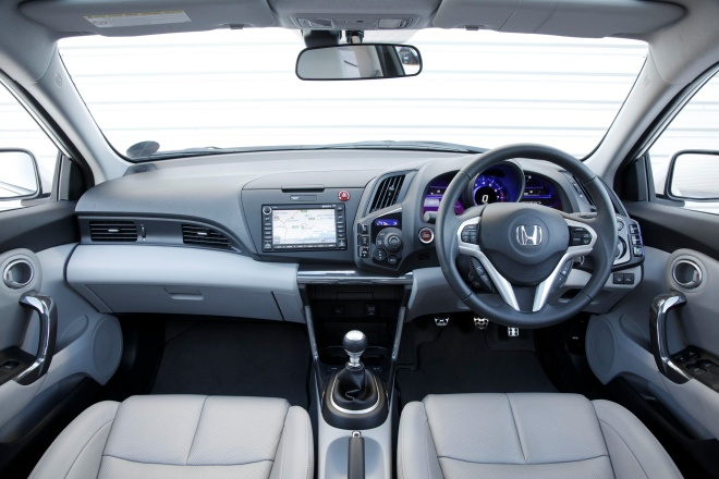 Honda CR-Z interior