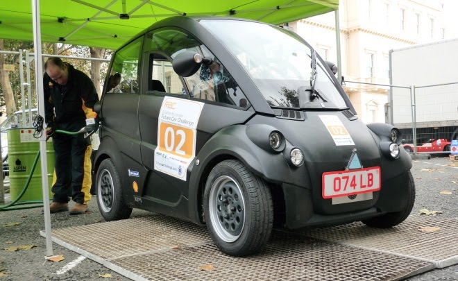 Gordon Murray T25 is topped up
