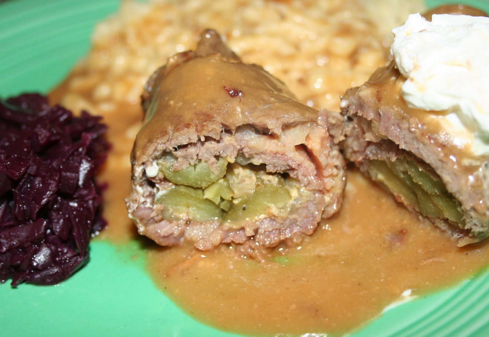 how to make german beef rouladen
