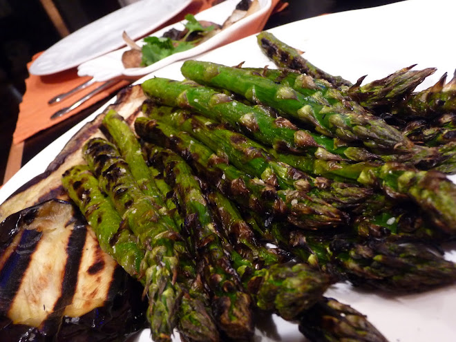 Grilled Asparagus & Eggplant