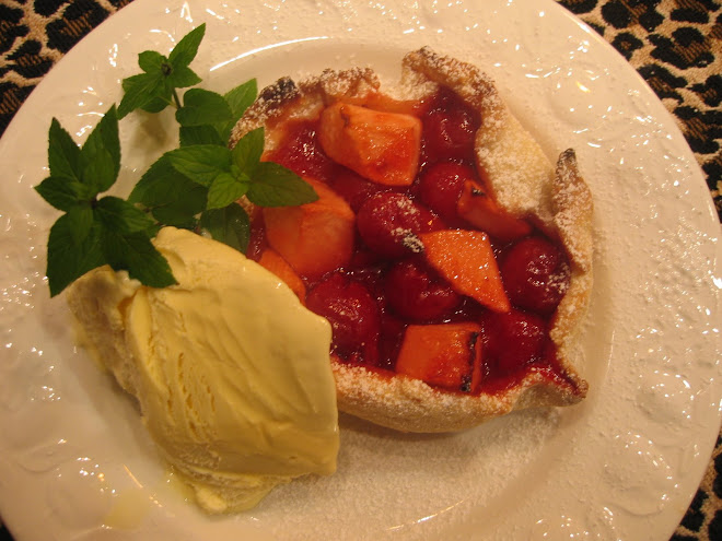 Cherry Apple Crostata