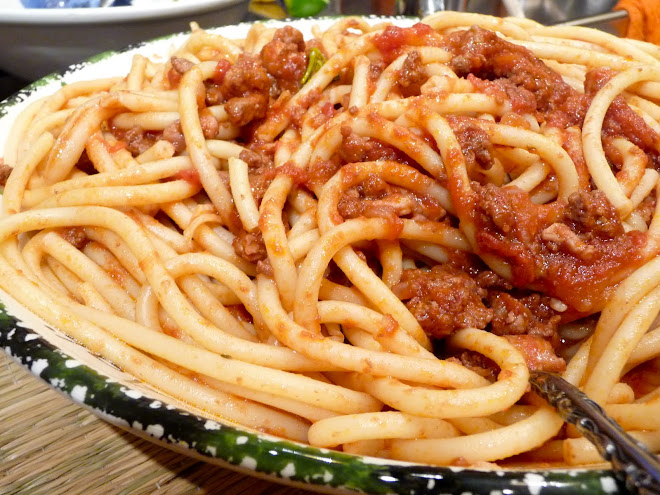 Bucatini with Pork & Beef Ragu