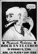 Afiche de la época