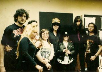 Los Ramones en los estudios de FM Rock & Pop, 1992