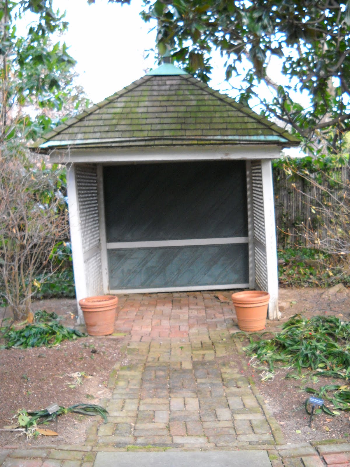 Preserving an american treasure september 2010 for Small garden shelter