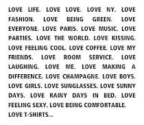 Manifest Generation Love