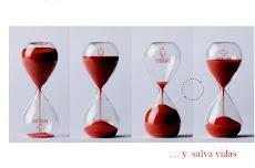 Donar sangre es humano... y salva vidas...
