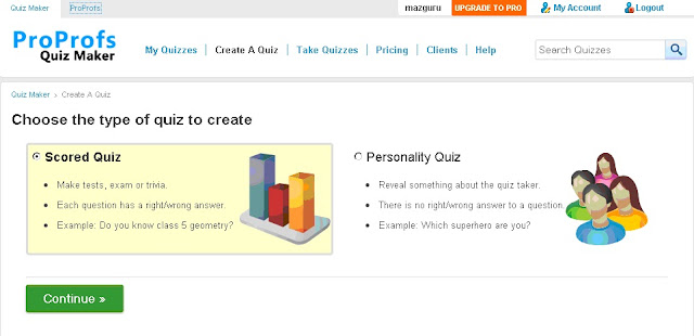 Cara Menaruh Soal Ulangan Matematika Online Berupa Kuis  Pada Bloggspot
