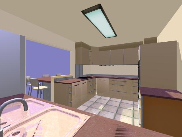 Hom3 le conseil deco creation d 39 une cuisine for Modelisation cuisine 3d