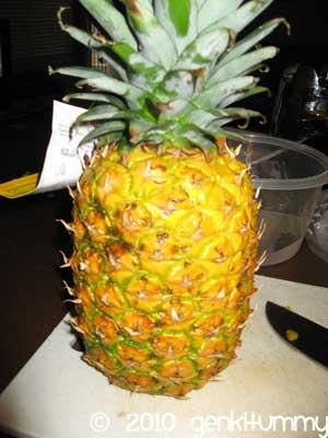essay on pineapple