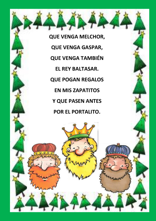 Poemas De Navidad Para Ninos